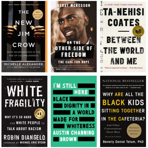 Exhibit | Anti-Racism Readings | Jennifer Horne